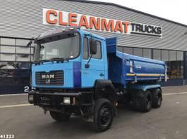 kipper vrachtwagen > 7.5 t MAN 27.464 6x6 Kipper Manual Full steel Euro 2 1997