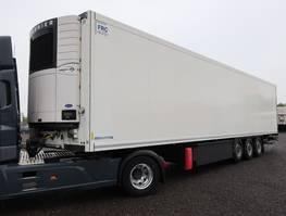 koel-vries oplegger Krone SDR 27 Doppelstock Liftachse LBW 2012