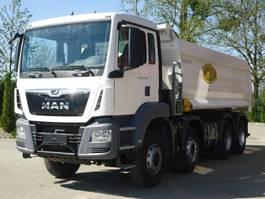 kipper vrachtwagen > 7.5 t MAN TGS 41 8x4 EURO6 Muldenkipper wie Neu! 2019