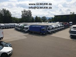 gesloten bestelwagen Mercedes-Benz T 2 609 D Koffer 3,3m mit LBW 1992