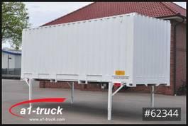wissellaadbak container Krone WB 7,45, Container, stapelbar, Staplertasche, neu lackiert 2007