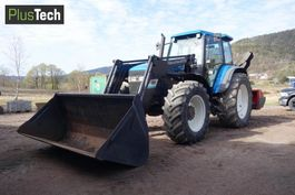 standaard tractor landbouw New Holland 8160 4WD 1998
