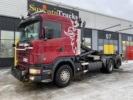 containersysteem vrachtwagen Scania R164 G 6X2 2003
