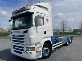 chassis cabine vrachtwagen Scania R560 6X2  OPTI RETARDER FULL AIR EURO 5