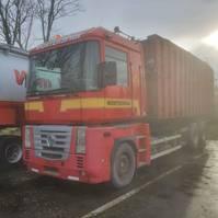 containersysteem vrachtwagen Renault Magnum 480 2008