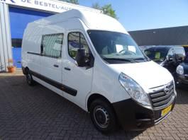 gesloten bestelwagen Opel Movano 2.3 CDTI L3H3 AIRCO CRUISE CAMERA 3 ZITS 136 PK 2016