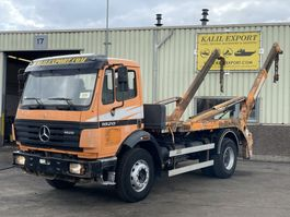 containersysteem vrachtwagen Mercedes-Benz 1820 Container Syst. Big Axle Full Spring Good Condition 1997