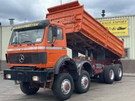 kipper vrachtwagen > 7.5 t Mercedes-Benz 3535 AK Kipper 8x8 V8 ZF Good Condition 1988