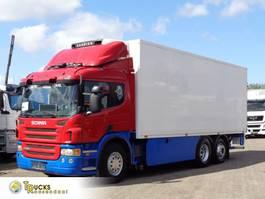 koelwagen vrachtwagen Scania P380 + Manual + 6x2 + Carrier 750 Nordic + Steering axle 2008