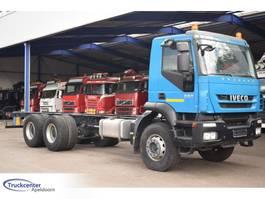 chassis cabine vrachtwagen Iveco Trakker 330 UNUSED, Manuel, Steel springs, 6x4, Truckcenter Apeldoorn 2008