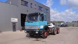 chassis cabine vrachtwagen Iveco Magirus 260 - 23 (GRAND PONT / SUSPENSION LAMES / V8 MOTEUR) 1989