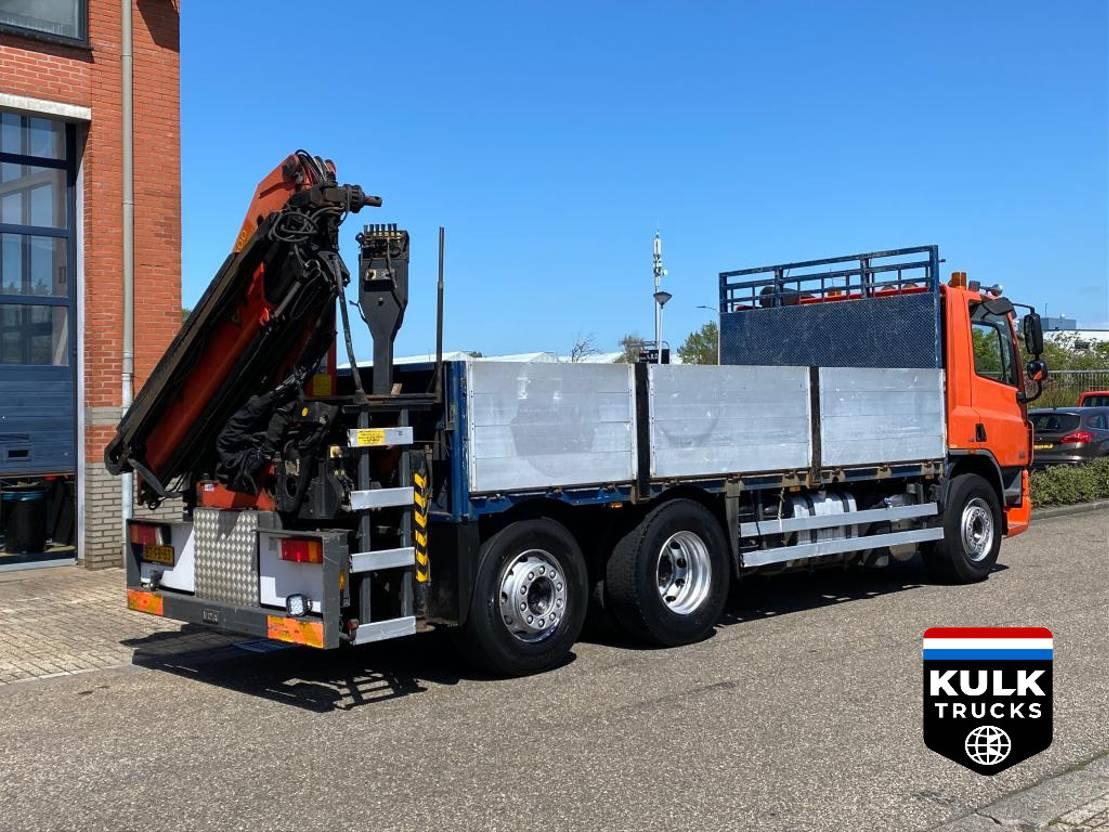 platform vrachtwagen DAF CF 75 6X2*4 / PALFINGER 15Ton NL TRUCK / TOP CONDITION 2007