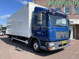 bakwagen vrachtwagen MAN TGL 12.180 4X2 KOFFER MIT LBW SCHALTGETRIEBE HOLLAND TRUCK!!!! 2008