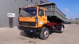 kipper vrachtwagen > 7.5 t Renault G 270 Manager (GRAND PONT / LAMES / 4X4 / 6 CULASSE / POMPE MANUELLE) 1991