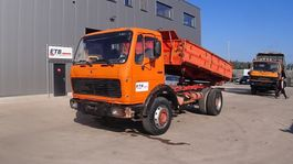 kipper vrachtwagen > 7.5 t Mercedes-Benz SK 1928 (GRAND PONT / SUSPENSION LAMES / V8 MOTEUR) 1976
