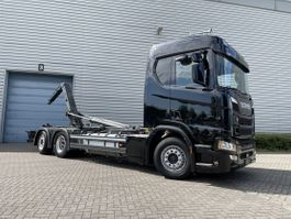 containersysteem vrachtwagen Scania R450 Ngs met 21T Haakarm systeem 2018