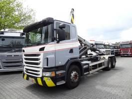 containersysteem vrachtwagen Scania G 440 6X4 MULTILIFT HAKEN 2013