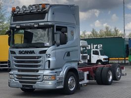 chassis cabine vrachtwagen Scania R560-V8 6x2 MANUAL RETARDER EURO 5 2010