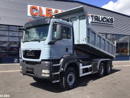 kipper vrachtwagen > 7.5 t MAN TGS 26 6x6 Kipper Manual 2013