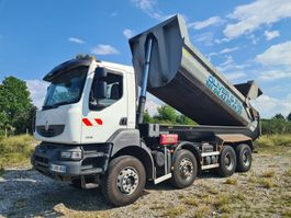 kipper vrachtwagen > 7.5 t Renault Kerax 380 DXI 8X4 MANUAL 2011