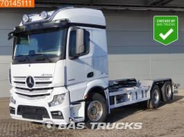 chassis cabine vrachtwagen Mercedes-Benz Actros 2558 6X2 6x2*4 Lift+Steering Axle Hydraulik Retarder Xenon 2016