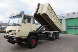 kipper vrachtwagen > 7.5 t MAN Stayer 26.370 6x4 ( 10 big tyres) STEEL DUMPER tipper/ STEEL SPRINGS 1988