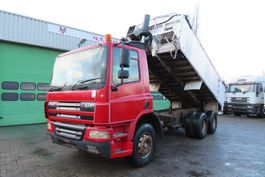 kipper vrachtwagen > 7.5 t DAF CF 75.310 6x4  RHD Manual ( FULL SPRING SUSPENSION) 2003