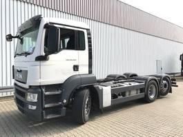 chassis cabine vrachtwagen MAN TGS 26 6x2-4 BL TGS 26.400 6x2-4 BL, Intarder, Lenk-Liftachse 2014