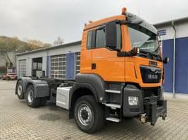 kipper vrachtwagen > 7.5 t MAN TGS 28 6x4-4 BL Eur 6 Winterd. Wechselfahrg. 2015
