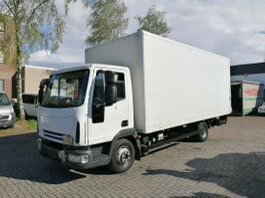 gesloten bestelwagen Iveco EuroCargo 75 E16, Koffe, Euro4, Blatt/Blatt, LBW 2007