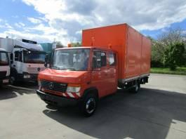 huifzeil vrachtwagen Mercedes-Benz Vario 813 D/ D DOKA 6-Sitzer Pritsche LBW 1,5 2013