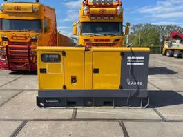 generator Atlas Copco QAS60  Aggregaat / Generator 4954 H TOP conditie 2012