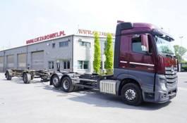 chassis cabine vrachtwagen Mercedes-Benz Actros 2542 , E6 , BDF SET , 2 beds , ACC , Low Mileage 2015