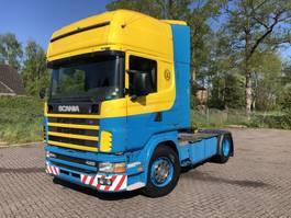 standaard trekker Scania 124 420 Topline analoog The Moneymaker Low Km 2002