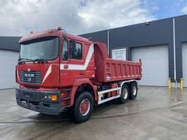 kipper vrachtwagen > 7.5 t MAN 33.414 6X6 KIPPER/TREKKER