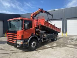 kipper vrachtwagen > 7.5 t Scania 94C 310 KIPPER/KRAAN