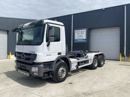 containersysteem vrachtwagen Mercedes-Benz ACTROS 2636 EURO4 HAAKSYSTEEM HIAB