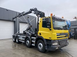 chassis cabine vrachtwagen DAF CF 85 CF85.380 8X4 CHASSIS CABINE