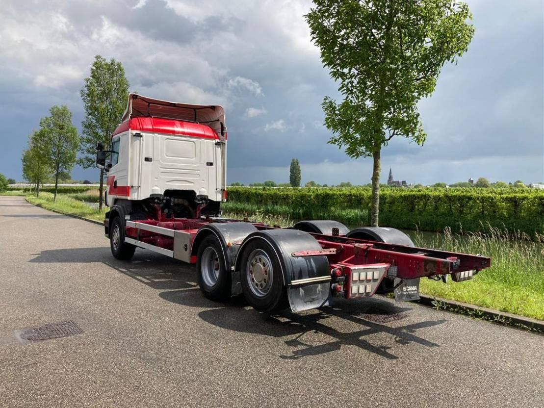 chassis cabine vrachtwagen Scania R730 V8 CR19 full air / PTO / Alcoa 2012