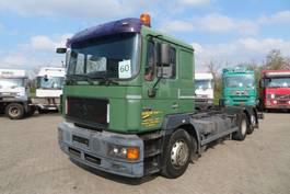 chassis cabine vrachtwagen MAN 26.403 6x2 Manual diesel pomp  (Euro 2) 1998