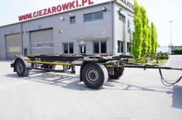 chassis aanhanger Kögel AWE 18 , BDF 7,5m , 2 axles , SAF axles 2016