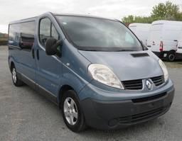 gesloten bestelwagen Renault Trafic 2.0 - L2H1 - dubbel cabine 2008