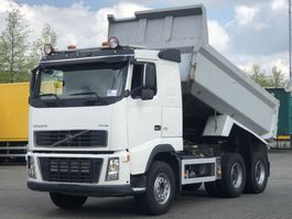 kipper vrachtwagen > 7.5 t Volvo FH16 6x4 TIPPER / SPRING / BIG AXLES 2008