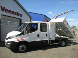 kipper bedrijfswagen Iveco Daily 35 C15 3.0HPI Kipper Kran Netto €17450,= 2014