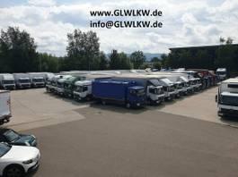 bakwagen vrachtwagen Mercedes-Benz Atego 1530 /1630 L Koffer 8,1m LBW 1,5 TO.BÄR 2015