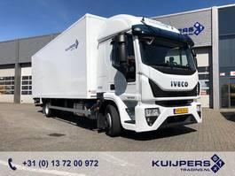 bakwagen vrachtwagen Iveco EuroCargo 120 120E 210 / 12 ton / Box / Loadlift 1500kg / APK TUV 2017