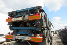 container chassis oplegger Krone SDC 27 / Container Chassis / BPW + Drum / 2x in stock 2007