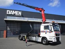 containersysteem vrachtwagen MAN TGS 35.500 8x4 ( Tridem ) Euro 6 2018