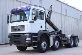 containersysteem vrachtwagen MAN 35.483 8x4 E3 AHK 2004