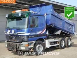 kipper vrachtwagen > 7.5 t Mercedes-Benz Actros 2648 6X4 Big-Axle Steelsuspension 3-Pedals 12m3 Euro 3 2002